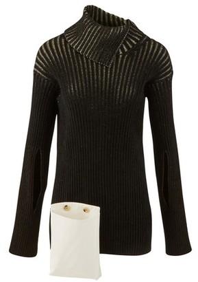 MONCLER GENIUS 2 Valextra - Asymmetric sweatshirt