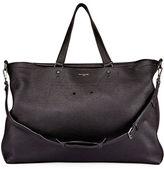 Balenciaga Blackout Men's Leather Weekender Bag