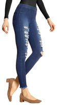 Hue Raw Edge Denim Skimmer Leggings