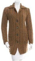 Etro Metallic Knit Cardigan