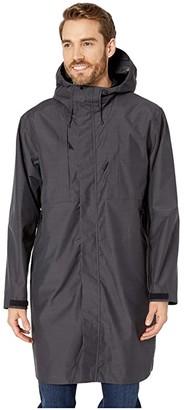 Snow Peak FR Rain Trench (Black) Men's Coat