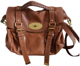 Mulberry Alexa Brown Leather Handbags