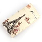 Susenstone® 1PC Flower Tower Pattern Women Long Purse Clutch Wallet Bag Card Holder