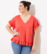 LOFT Plus Flutter Statement Tee