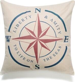 Shelley Breakwater Bay NSWE Star Cotton Throw Pillow Breakwater Bay Fill Material: Polyfill