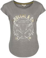 Soul Cal SoulCal Fashion Logo T Shirt Ladies