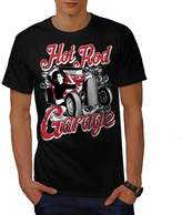 Girl Garage Hot Race Car Men XXXL T-shirt | Wellcoda
