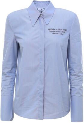 Off-White Padded Shoulder Shirt
