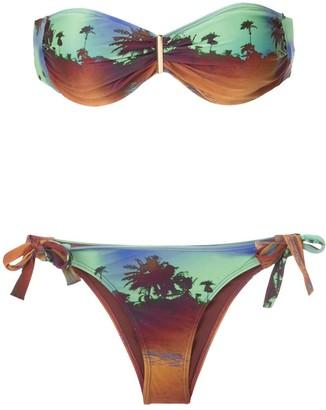 BRIGITTE Marina e Mel printed bikini set