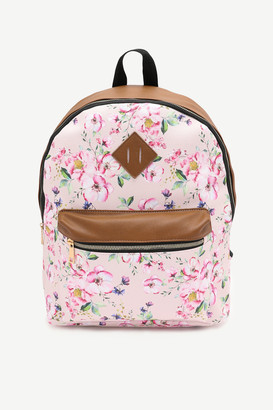 Ardene Floral Backpack