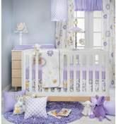 Glenna Jean Fiona Crib Bedding Collection in White/Purple