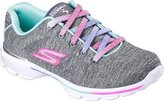 Skechers Girls' GOwalk 3 Jersey Jumpers Walking Sneaker Size 3 M