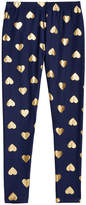 Epic Threads Gold Foil Hearts Printed Leggings, Big Girls, Created for Macy's