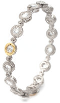 Coomi Opera Crystal & Diamond Bangle Bracelet