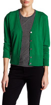 DKNY Long Sleeve V-Neck Cardigan