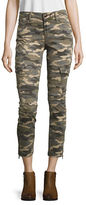 True Religion Cropped Camouflage Jeans
