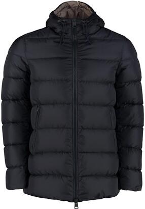 Herno Goose Down Jacket With Zip Closure