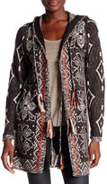 Cliche Jacquard Hooded Cardigan