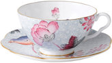 Wedgwood Blue Cuckoo Teacup and Saucer