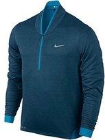 Nike Men's Dri-Fit TW Cypress Shield 1/2 Zip Golf Jacket, Blue, XL, 639817 496