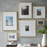 west elm Gallery Frames - Polished Brass