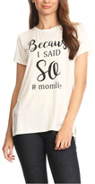 Blvd #Momlife Tee
