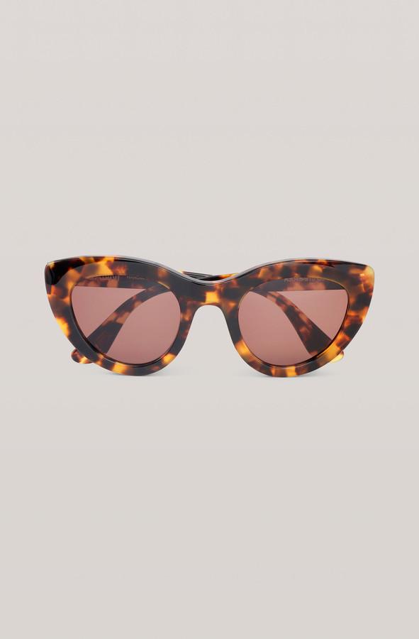 Ganni Biodegradable Cat Eye Sunglasses