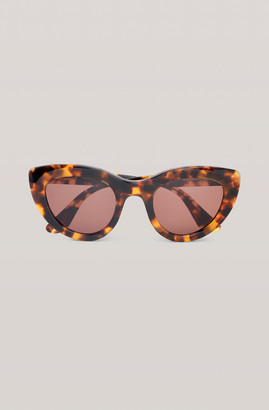 Ganni Biodegradable Cat Eye Sunglasses