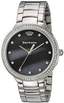 Juicy Couture Women's 'CATALINA' Quartz Stainless Steel Casual Watch, Color:Silver-Toned (Model: 1901507)