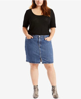 Levi's Plus Size Iconic Denim Skirt
