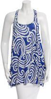 Diane von Furstenberg Sleeveless Printed Top
