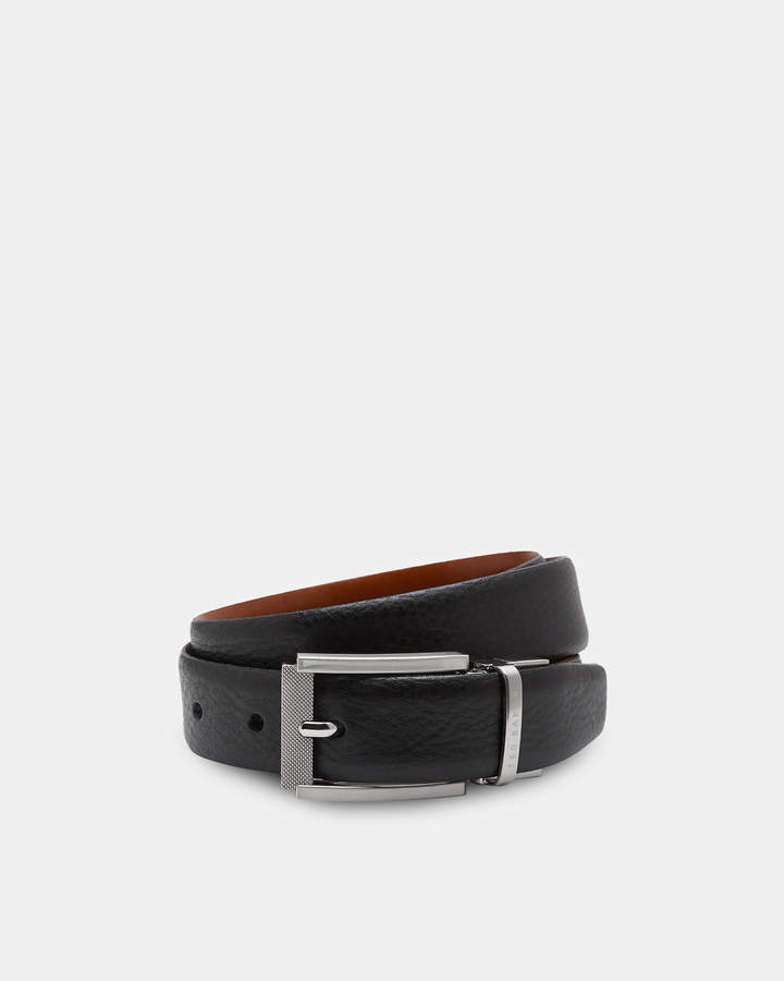 Ted Baker REVA Reversible textured leather belt