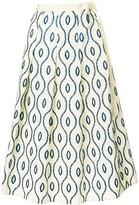 Marni Embroidered Full Skirt
