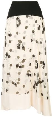 3.1 Phillip Lim Cerise Maxi Skirt