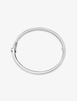 Cartier Love 18ct white-gold and diamond bracelet