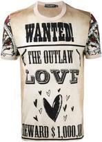 Dolce & Gabbana Western poster print T-shirt