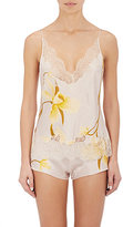 Carine Gilson Women's Floral Lace-Trimmed Silk Camisole