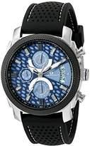 Oceanaut Men's OC2320 Kryptonite Analog Display Quartz Black Watch