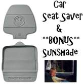 Prince Lionheart Two Stage Seat Saver (GREY) with *BONUS* Baby on Board Sunshade