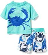Old Navy 2-Piece Rashguard Set for Baby