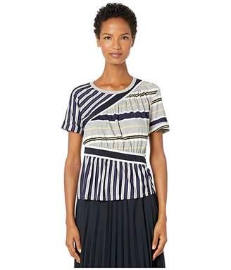 Sportmax Euclide Striped T-Shirt