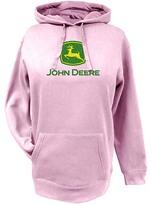 John Deere Pink Logo Hoodie