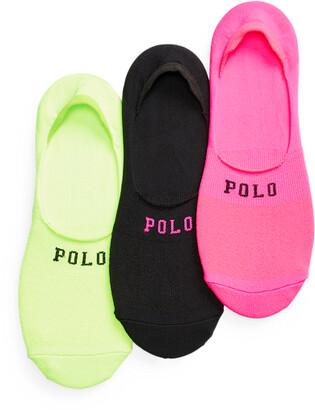 Ralph Lauren Mesh Liner Sock 3-Pack