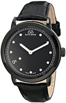 88 Rue du Rhone Women's 87WA120029 Analog Display Analog Quartz Black Watch