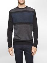 Calvin Klein Colorblock Merino Blend Sweater