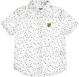 Lyle & Scott Boys Spot Print Short Sleeve Shirt