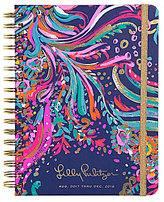 Lilly Pulitzer 2017-2018 Beach Loot Large Agenda