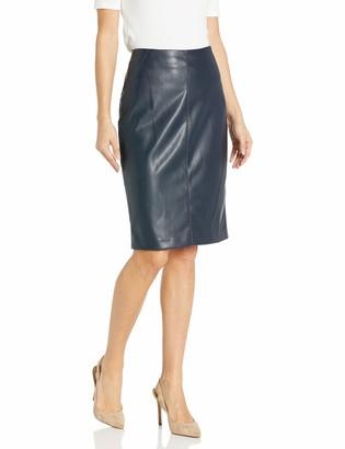 Tommy Hilfiger Women's Pleather Pencil Skirt