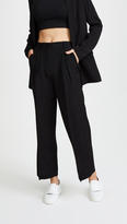 Alexander Wang Soft Suiting Cropped Wide Leg Pants