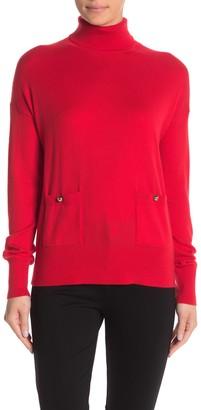 Kate Spade haya pocket turtleneck sweater